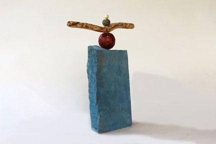 The Blue Zen Urn