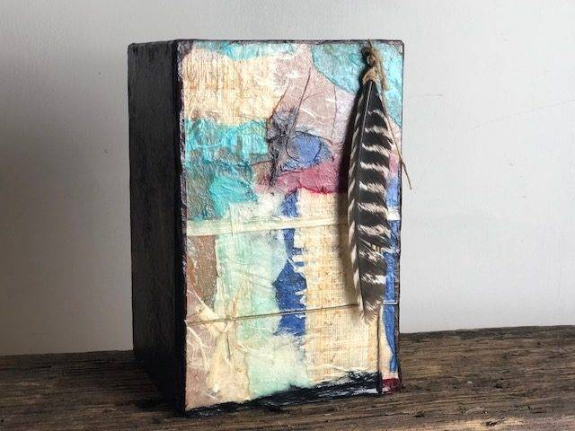Colorful Life Cremation Art Urn, a Contemporary, Full Size Work of Art for a Colorful Life Well Lived