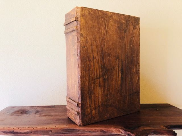 "This ""Old World,"" One of a Kind, Book Style Cremation Urn is Full-Size for Adult Human Ashes"