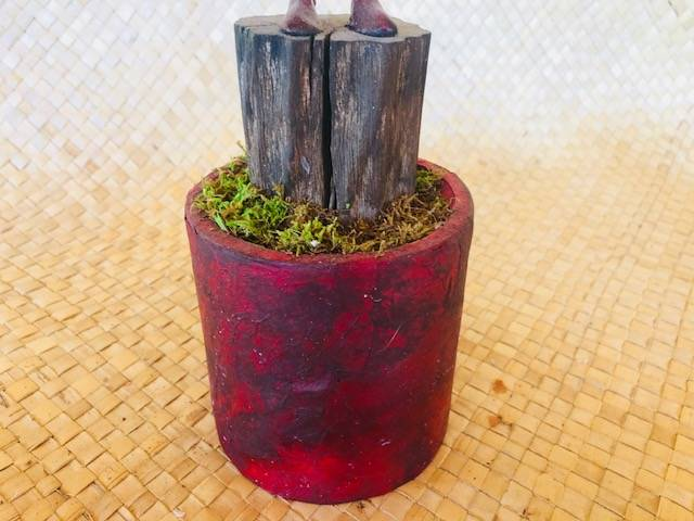 """WITH BELLS,"" a Fanciful, Inspired, Unique Keepsake or Sharing Cremation Art Urn for Human or Pet Ashes"