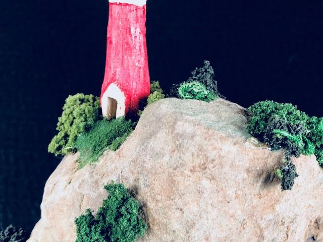LIGHTHOUSE, a Uniquely Creative Keepsake or Sharing Cremation Art Urn for Human or Pet Ashes