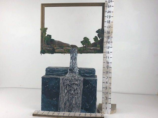 MEMORIES, a Unique, One of a Kind, Full Size Cremation Art Urn for Human or Pet Ashes