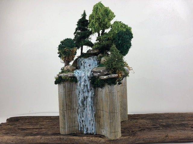 PEACE ABUNDANT, a Unique, One of a Kind, Full Size Cremation Art Urn for Adult Human or Pet Ashes