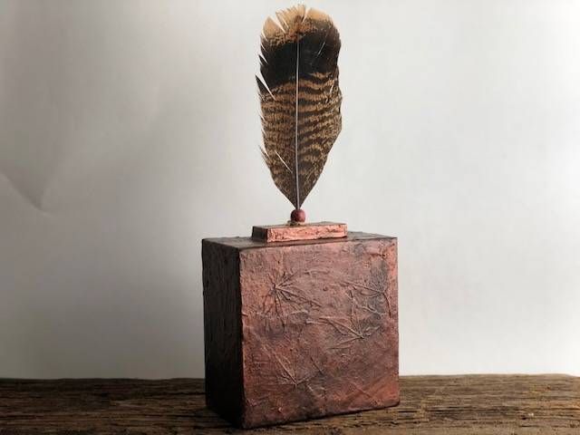 FLIGHT, a One of a Kind, Unique, Small or Sharing Cremation Art Urn for Human or Pet Ashes