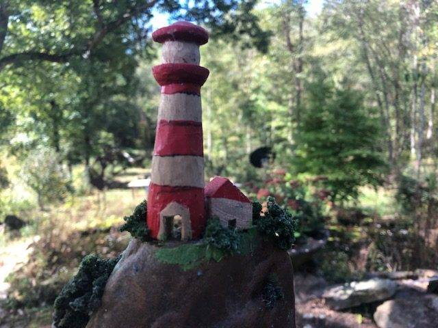 LIGHTHOUSE HOPE, a Sculpted Stone Creation