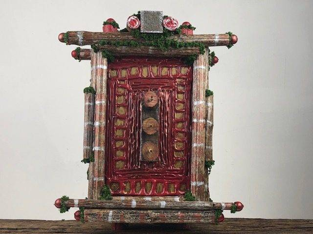 ZEN PEACE, a Unique, Full Size, One of a Kind Cremation Art Urn for Human or Pet Ashes