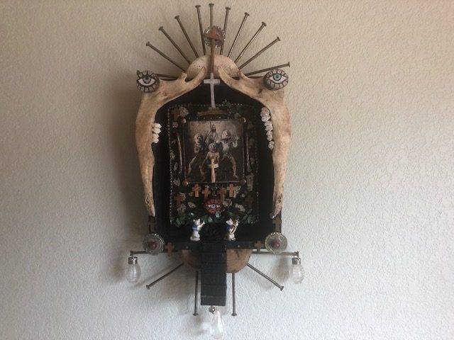 LORD OF ALL, a Unique Faith-based Shrine, Modern Wall Art
