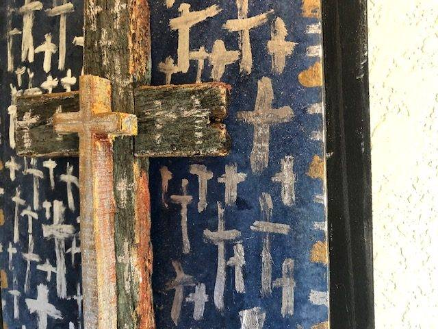 CROSSES, Unique, Faith-based, One of a Kind Wall Art