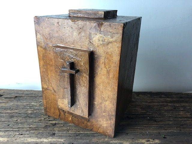 TRANQUILITY-2, a Faith-based, Full Size, One of a Kind Cremation Art Urn for Adult Human Ashes