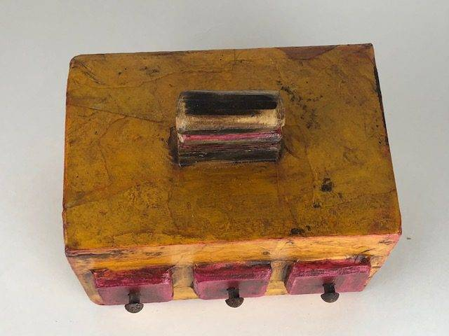 TRIBE, a Unique, Artistic, One of a Kind, Full Size Cremation Art Urn for Human or Pet Ashes