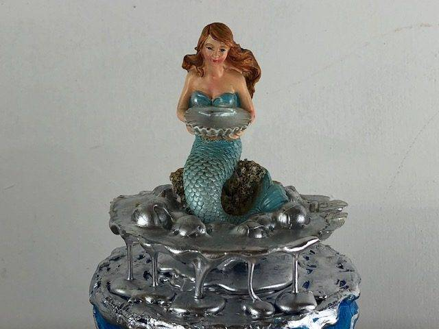 MERMAID-2, a Lovely, Unique, Small or Sharing Urn for Human or Pet Ashes