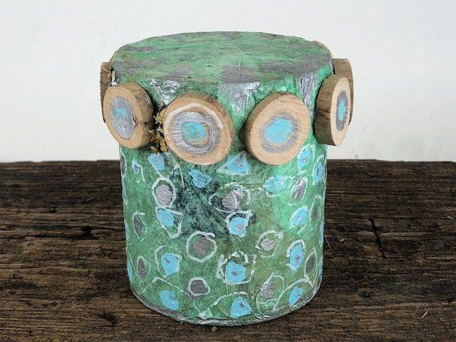 DOTS, an Artsy, Unique, One of a Kind, Small or Sharing Cremation Art Urn for Human or Pet Ashes