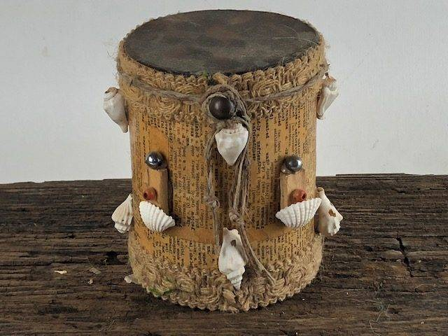 BEACHY, a Creatively Unique, One of a Kind, Small or Sharing Cremation Art Urn for Human or Pet Ashes