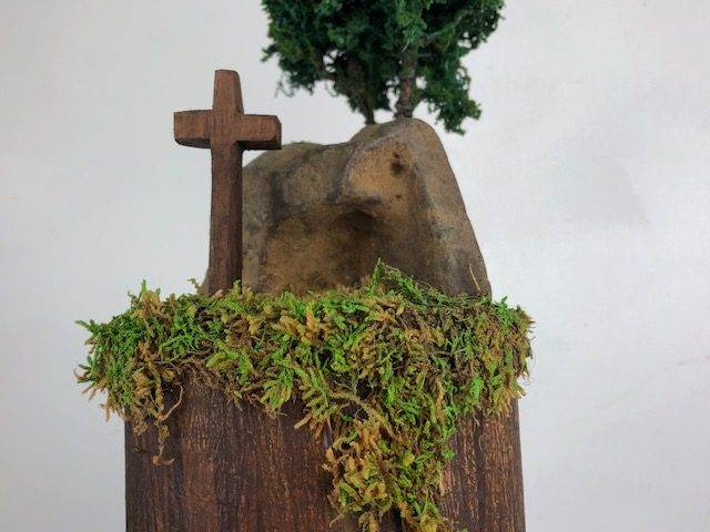 HOLY GROUND, a One of a kind, Small Cremation Art Urn for Human or Pet Ashes