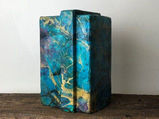 SEA QUEST, a Unique, One of a Kind, Full Size Cremation Art Urn for Human or Pet Ashes