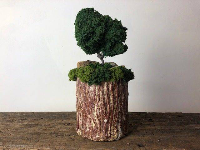 TREE TOP, a Unique, One of a Kind, Small or Sharing Cremation Art Urn for Human or Pet Ashes
