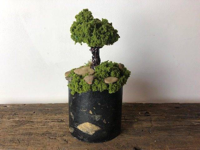 FERN VALLEY, a Unique, One of a Kind, Small or Sharing Cremation Art Urn for Human or Pet Ashes