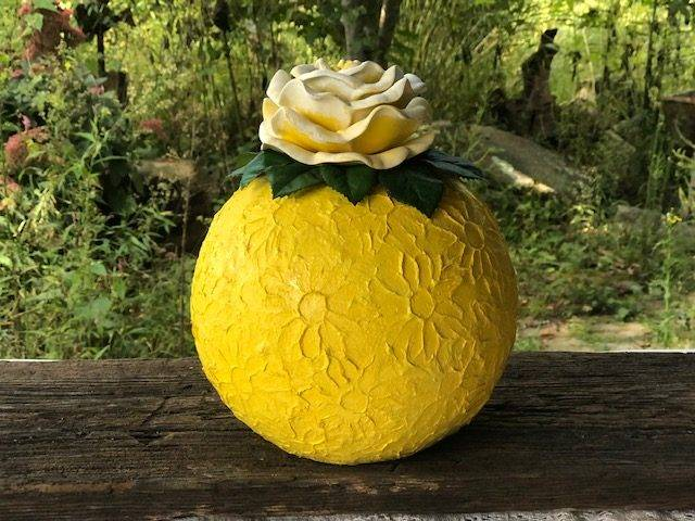 TEXAS ROSE, a Beautiful, One of a Kind, Mid-Size or Sharing Ceramic Cremation Urn for Human or Pet Ashes