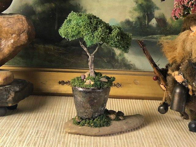 PINCH POT TREE, a Quaint, One of a kind Keepsake or Sharing Cremation Art Urn for Human or Pet Ashes