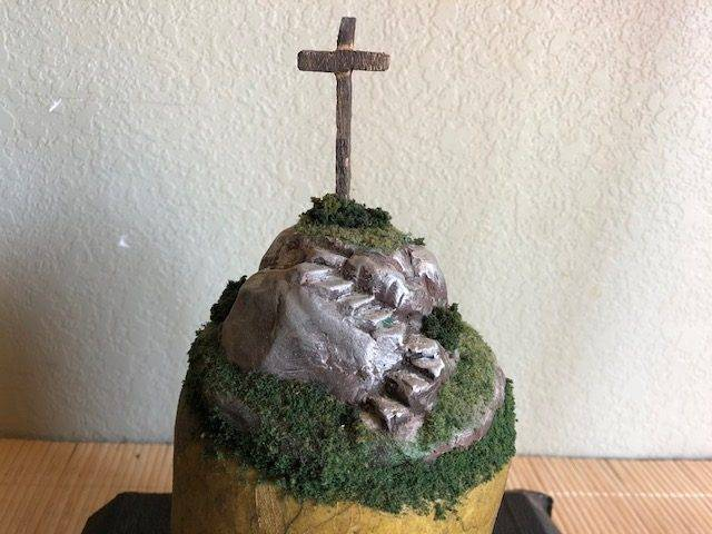 AMAZING GRACE, a Unique, Faith-based, Small or Sharing Cremation Art Urn for Human or Pet Ashes