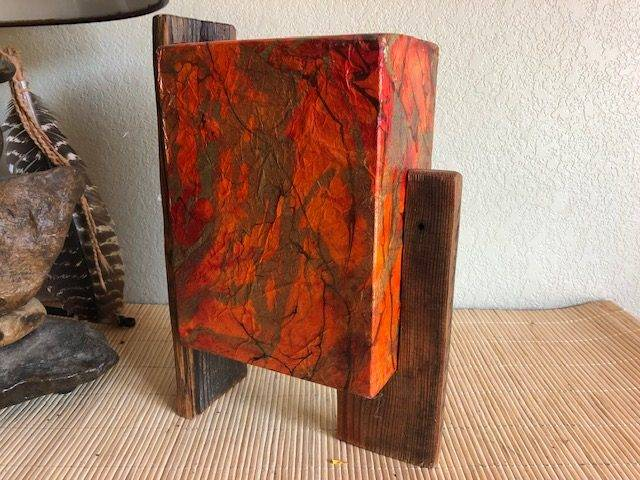 AUTUMN BREEZE, a Creatively Unique, Full-Size Cremation Art Urn for Human or Pet Ashes