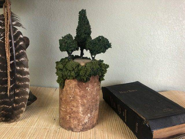 QUIET GROVE, a Unique, One-of-a-Kind, Small or Sharing Cremation Art Urn for Human or Pet Ashes