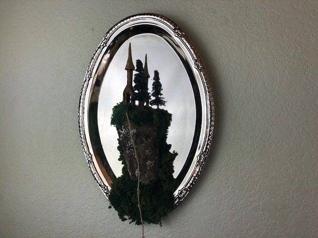 CASTLE KEEP ,a Unique, One-of-a-Kind, Work of Art Wall Decor
