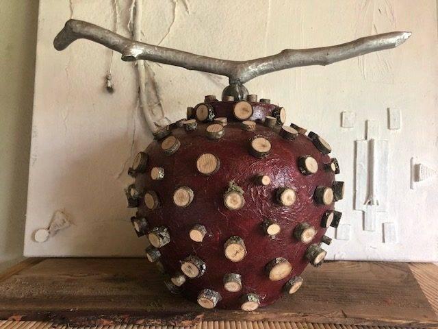 ENLIGHTEN,  a Unique, Zen-type, Full-Size, Ceramic Cremation Urn for Human or Pet Ashes